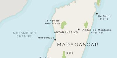 Isla De Madagascar Mapa.Madagascar Mapa Mapas De Madagascar Africa Oriental Y Africa